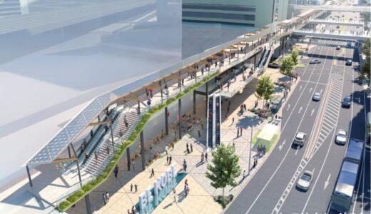 神戸市が三宮駅周辺歩行者デッキの設計競技(コンペ)の最終結果を公表!中央復建・安井・JR西日本コンサルの提案を最優秀に選定
