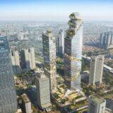 三菱地所がジャカルタの大規模複合開発「Oasis Central Sudirman」に参画、地上75階、高さ約340mの超高層ビルを建設!