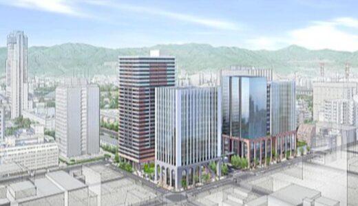広島八丁堀3・7地区市街地再開発事業 YMCA一帯に高層ビル3棟を建設! 【2028年度完成予定】