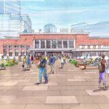 JR神戸駅前広場をリニューアル!神戸駅前広場再整備計画は駅舎を活かした風格ある景観を形成、開業100年を迎える2030年頃を目処
