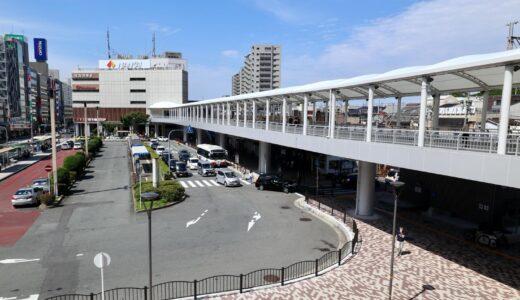 堺東駅〜プラウドタワー堺東(ジョルノ)〜市役所を接続するペデストリアンが便利!
