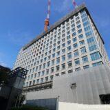 大阪第6地方合同庁舎(仮称)整備等事業の状況 21.09【2022年03月竣工】