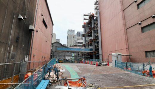 駐大阪大韓民国総領事館庁舎 新築工事の状況 21.06【2022年5月竣工】
