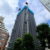 シティタワー大阪本町 建設工事の状況 21.06【2021年11月竣工予定】