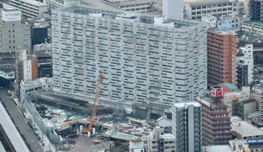 星野リゾート OMO7 大阪新今宮 建設工事の状況 21.07【2022年4月開業予定】