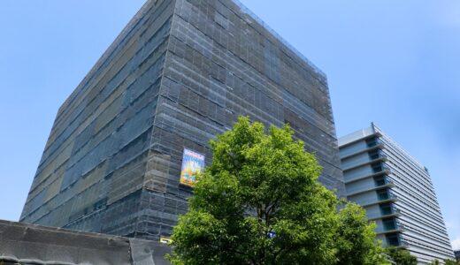 NTT西日本新本社ビル(大阪研修センタ3期)の建設状況 21.07
