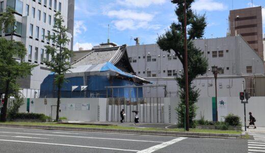(仮称)三津寺ホテルプロジェクトの状況 21.07【2023年6月竣工予定】