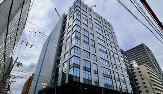 新大阪第2NKビル(仮称)JR西日本不動産開発の新大阪オフィス計画の状況 21.08【2022年2月竣工予定】