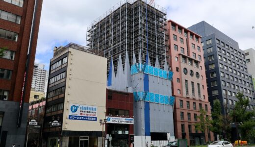 駐大阪大韓民国総領事館庁舎 新築工事の状況 21.09【2022年5月竣工】