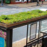"""バス停の屋根の上に蜂の停留所「Bee Bus Stops」を設置!イギリス・レスター市の30のバス停の上に""""リビングルーフ """"を設置"""