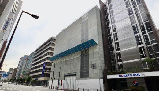 (仮称)PMO EX 本町三丁目 PJ  旧大阪滋賀ビル解体工事の状況 21.06【2023年8月竣工予定】