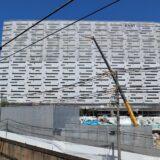 星野リゾート OMO7 大阪新今宮 建設工事の状況 21.08【2022年4月開業予定】