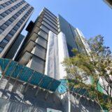 新曽根崎ビル(仮称)新築工事ーNTT西日本曽根崎ビル跡に建設されるデータセンターの状況 21.08