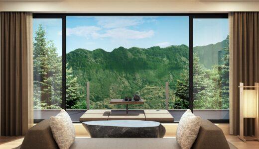 「ふふ 箱根」は 2022年1月26日開業!箱根の大自然に囲まれた山のリゾートが誕生