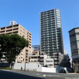 (仮称)OMタワー上本町新築工事 大阪メトロがタワマン初参画 建設工事の状況21.09【2024年7月竣工予定】