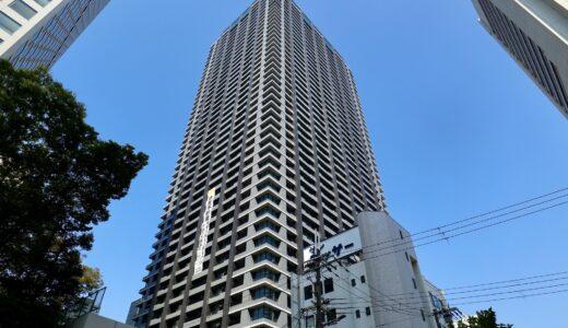 シティタワー大阪本町 建設工事の状況 21.09【2021年11月竣工予定】