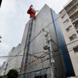 大和ハウス工業(仮称)新大阪オフィスビルプロジェクト新築工事の状況 21.08【2022年2月竣工】