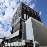 (仮称)センタラグランドホテル大阪 難波中二丁目開発計画「A敷地」の状況 21.09【2023年3月竣工】