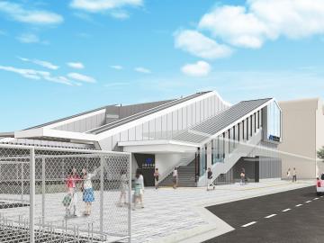 JR西日本ー奈良線 山城青谷駅の橋上駅舎化は2022年夏頃に完成予定!