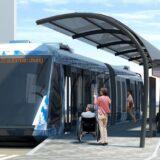 JR 西日本とSBが「自動運転・隊列走行(カルガモ走行) BRT」の実証実験を開始!滋賀県野洲市に約2.28万㎡のテストコースが完成