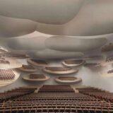 awa アワー project(徳島文化芸術ホール(仮称)整備事業)花びらが舞うような大ホールのテラス客席が凄い!