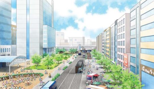 堺市がバスタイプの次世代都市交通(ART)を「大小路線」堺東~堺間に導入!新交通基本方針素案策定