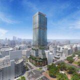 名古屋・栄にコンラッドホテルが進出!三菱地所らの栄広場再開発の高層階にヒルトンの最上級ブランド入居