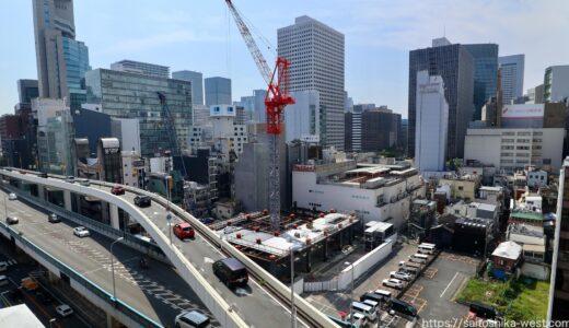 アパホテル&リゾート〈梅田駅タワー〉建設工事の状況 21.09【2022年末開業予定】