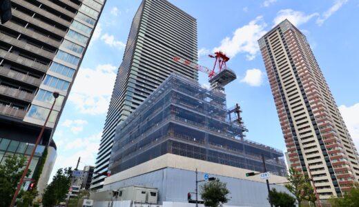 (仮称)大阪府済生会大淀南リハビリテーション病院 建設工事の状況 21.10【2023年3月竣工】