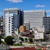 NTT西日本新本社ビル(大阪研修センタ3期)の建設状況 21.10