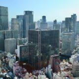 大阪駅前第三ビルから見た大阪都心2021