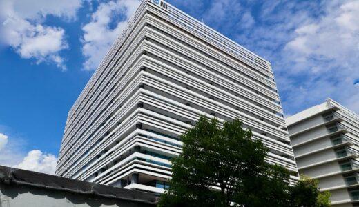 NTT西日本新本社ビル(大阪研修センタ3期)の建設状況 21.09
