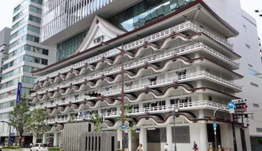 ホテルロイヤルクラシック大阪の銅板屋根の色が変化を開始!20年以上を掛けて「緑青色」へ