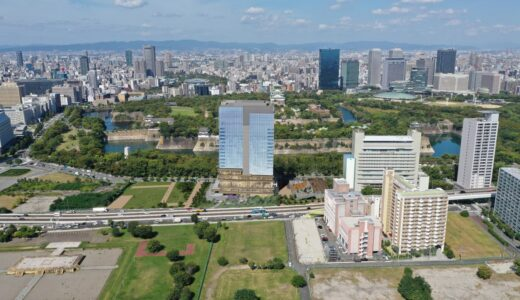 NTT西日本本社跡に高級ホテル!法円坂北特定街区開発計画は地上20階、高さ102m、客室数約220室【2025年春開業】