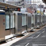 JR高槻駅に設置された3種類のホームドア(可動式ホーム柵)の状況 21.10