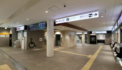 泉北高速鉄道 泉ヶ丘駅 大規模リニューアルされた改札階コンコースの状況 21.10